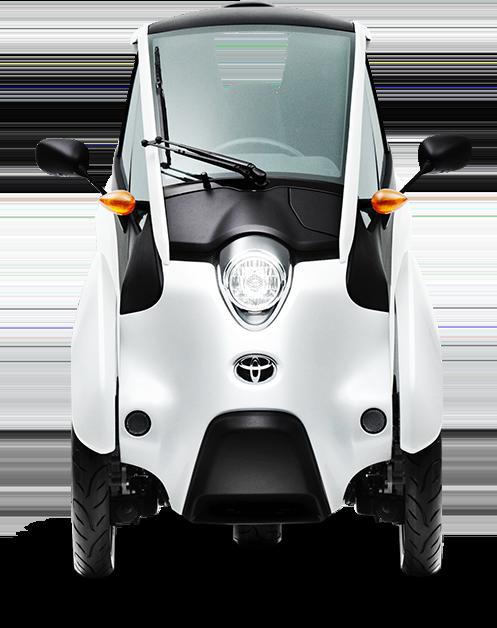 可以自动保持平衡的超小型i-ROAD